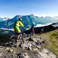 Around the mountains on bike © Saalfelden Leogang Touristik GmbH