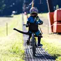 Up the hills of the bikeparks, no matter the age! © Saalfelden Leogang Touristik GmbH