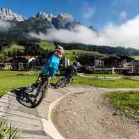 Discover the joy of biking, no matter your age! © Saalfelden Leogang Touristik GmbH
