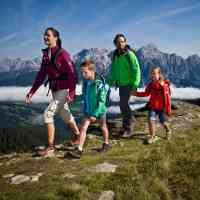 Hiking fun for families of all ages in Saalfelden Leogang © Saalfelden Leogang Touristik GmbH
