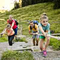 Family friendly hiking trails in Saalbach Hinterglemm © Tourismusverband Saalbach Hinterglemm