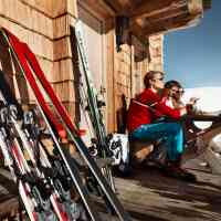 Tanning break at the inn, in Saalfelden Leogang © Saalfelden Leogang Touristik GmbH